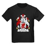 Grantham Family Crest Kids Dark T-Shirt