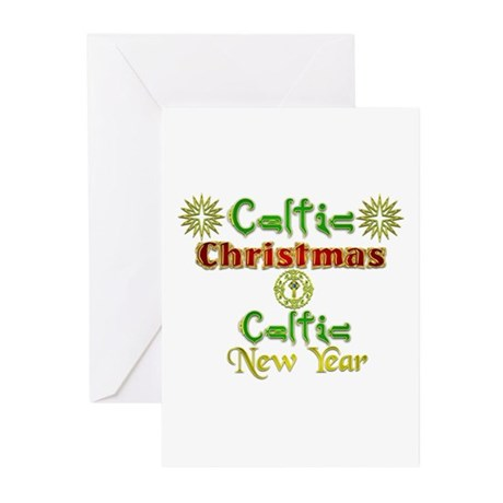 Celtic Greetings.:-) Greeting Cards (Pk of 20)