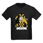 Grange Family Crest Kids Dark T-Shirt