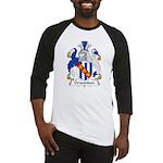 Grandison Family Crest Baseball Jersey