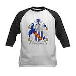 Grandison Family Crest Kids Baseball Jersey