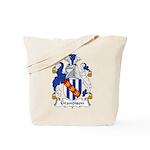 Grandison Family Crest Tote Bag