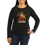 Gower Family Crest Women's Long Sleeve Dark T-Shir
