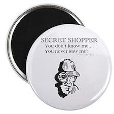 "Secret Shopper 2.25"" Magnet (10 pack)"