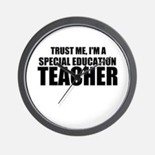 Trust Me, I'm A Special Education Teacher Wall Clo