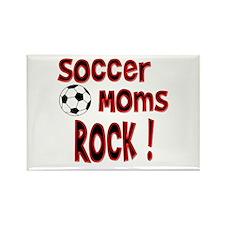 Soccer Moms Rock ! Rectangle Magnet