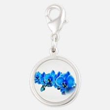 Ice blue orchids Charms