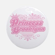 """Princess Brooklynn"" Ornament (Round)"