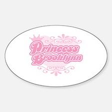 """Princess Brooklynn"" Oval Decal"