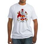 Gough Family Crest Fitted T-Shirt