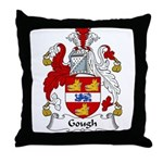 Gough Family Crest Throw Pillow