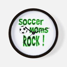 Soccer Moms Rock ! Wall Clock