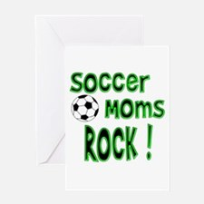 Soccer Moms Rock ! Greeting Card