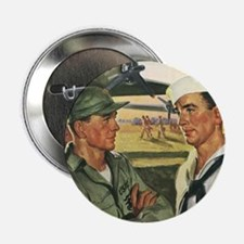 "Vintage Military 2.25"" Button (100 pack)"