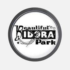 Beautiful Idora Park Wall Clock