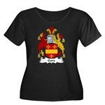 Gore Family Crest Women's Plus Size Scoop Neck Dar