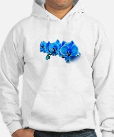 Ice blue orchids Hoodie