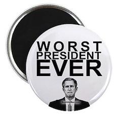 """""""Worst President Ever"""" Magnet"""