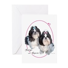 G & G Cameo (Pink) Greeting Cards (Pk of 10)