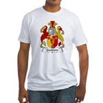 Goodwin Family Crest Fitted T-Shirt