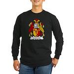 Goodwin Family Crest Long Sleeve Dark T-Shirt