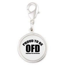 Proud To Be OFD Silver Round Charm