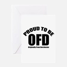 Proud To Be OFD Greeting Card