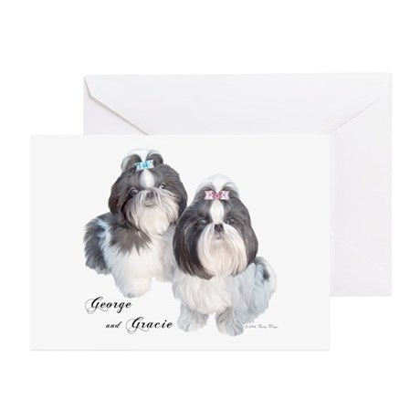 George & Gracie Greeting Cards (Pk of 10)