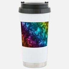 butterfly rainbow Stainless Steel Travel Mug