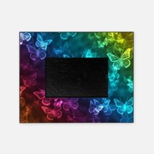 butterfly rainbow Picture Frame