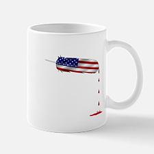 Eagle Feather Flag Mugs