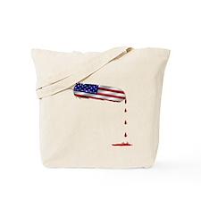 Eagle Feather Flag Tote Bag