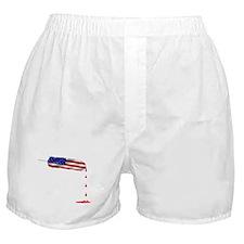Eagle Feather Flag Boxer Shorts