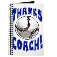 Funny Thanks coach Journal