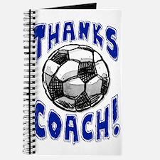 Cute Soccer coach Journal