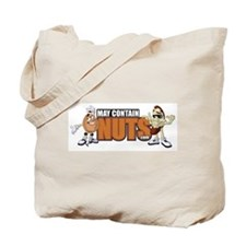 Funny Nuts Tote Bag