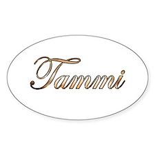 Gold Tammi Decal
