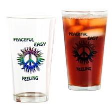 Peaceful Feeling Drinking Glass
