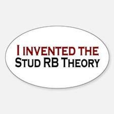 Stud RB Theory Oval Decal