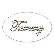 Gold Tammy Decal