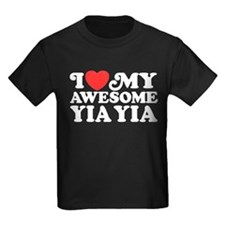 I Love My Awesome Yia Yia T
