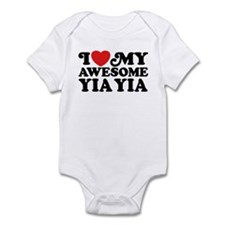 I Love My Awesome Yia Yia Infant Bodysuit