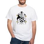 Glover Family Crest White T-Shirt