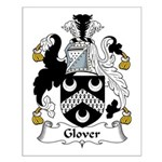 Glover Family Crest Small Poster