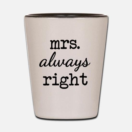 Unique Spouse Shot Glass