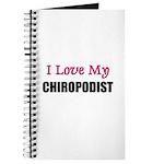 I Love My CHIROPODIST Journal
