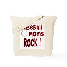 Baseball Moms Rock ! Tote Bag