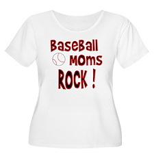 Baseball Moms Rock ! T-Shirt