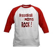 Baseball Moms Rock ! Tee