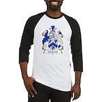 Glascott Family Crest Baseball Jersey